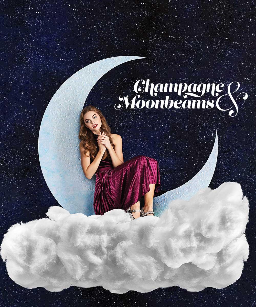 Geliniai lakai Champagne & Moonbeams kolekcija