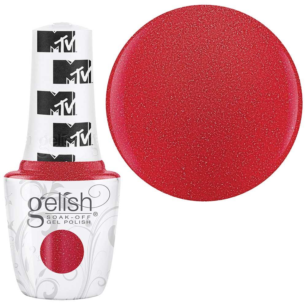 Geliniai lakai Gelish - Total request red spalva